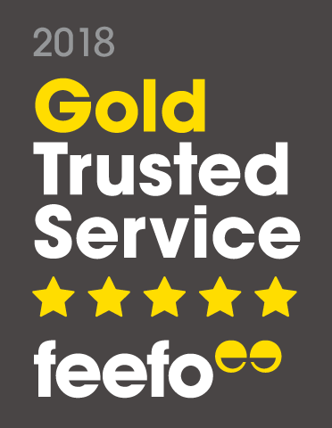 Feefo Gold Trusted Service